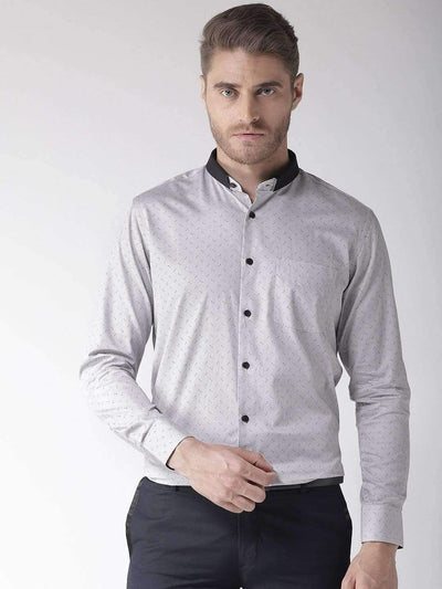 Slate Regular Fit Club Wear Shirt