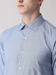 Blue Formal Shirt close view