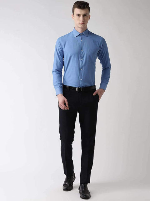 Light Blue Formal Shirt full view