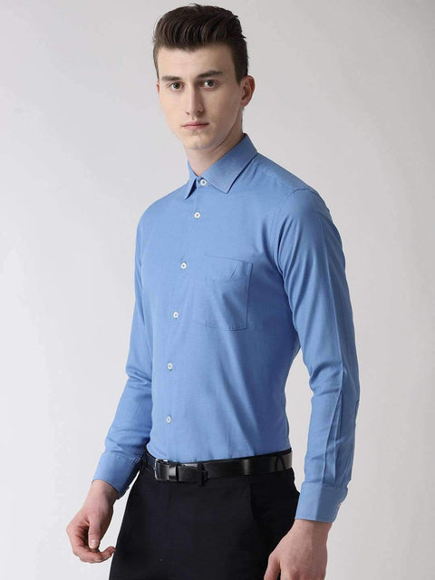 Light Blue Formal Shirt side view