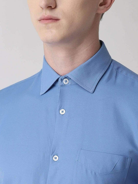 Light Blue Formal Shirt for men