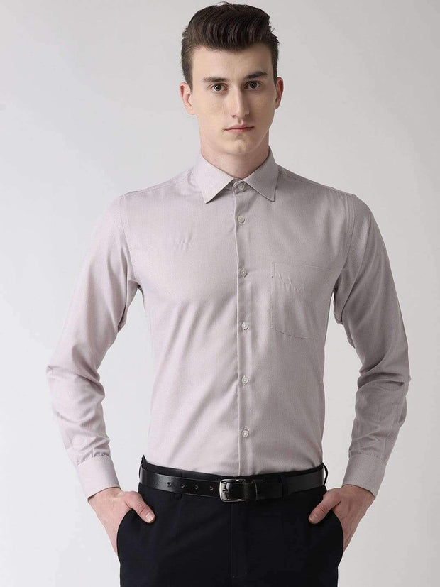 Light Orange Formal Shirt