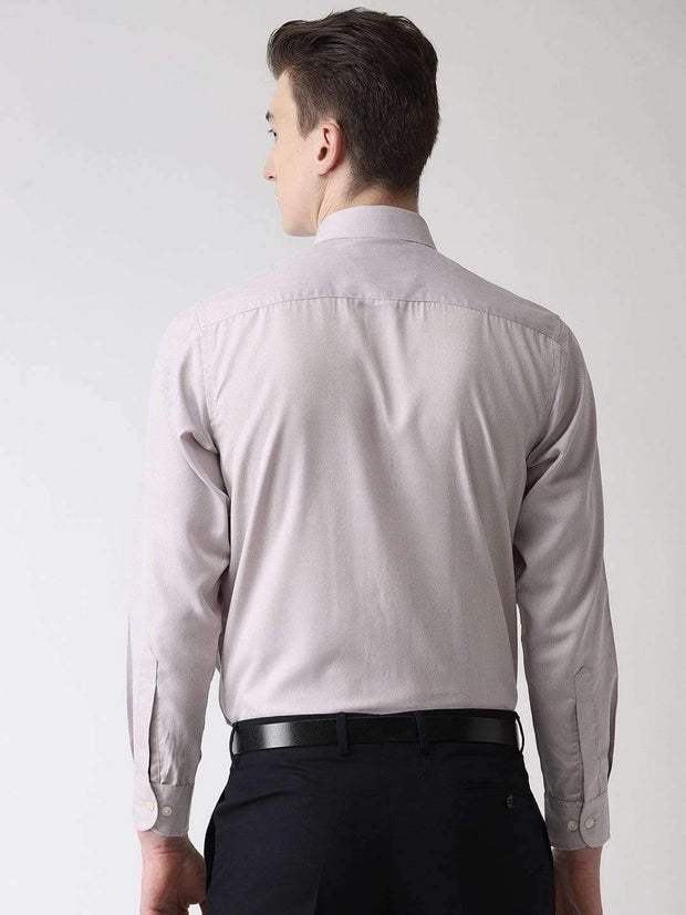 Light Orange Formal Shirt back view