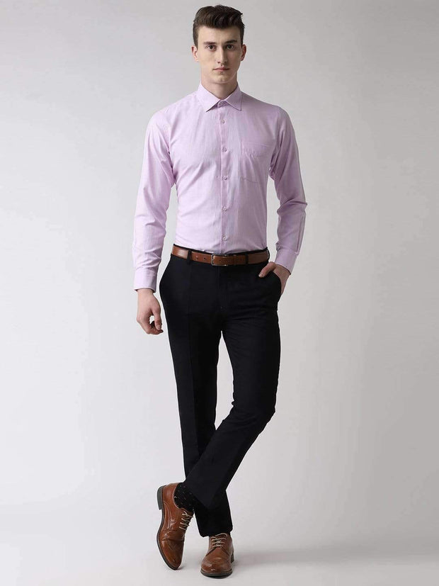 Light Purple Formal Shirt full view