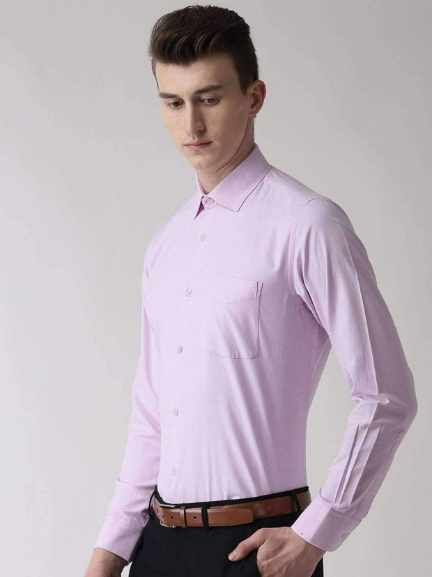 Light Purple Formal Shirt side view