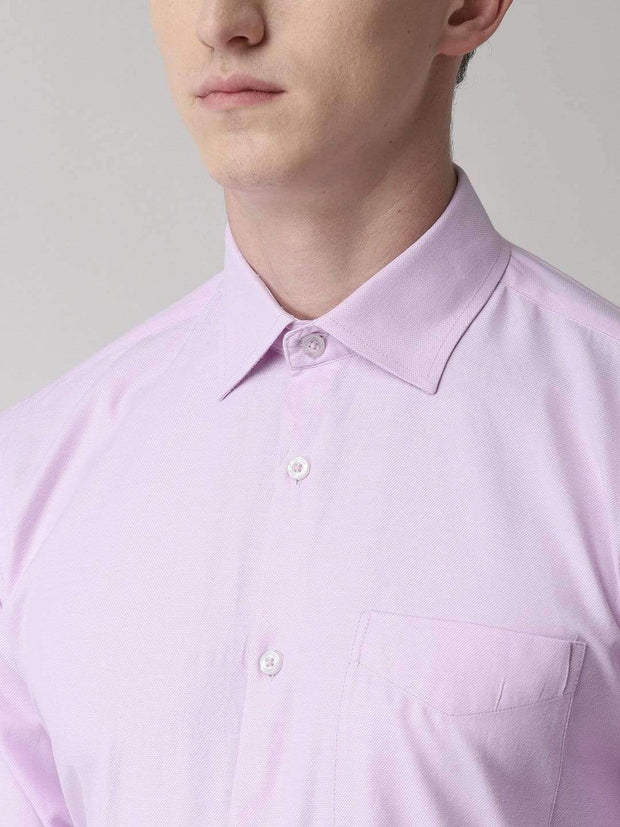 Light Purple Formal Shirt for men