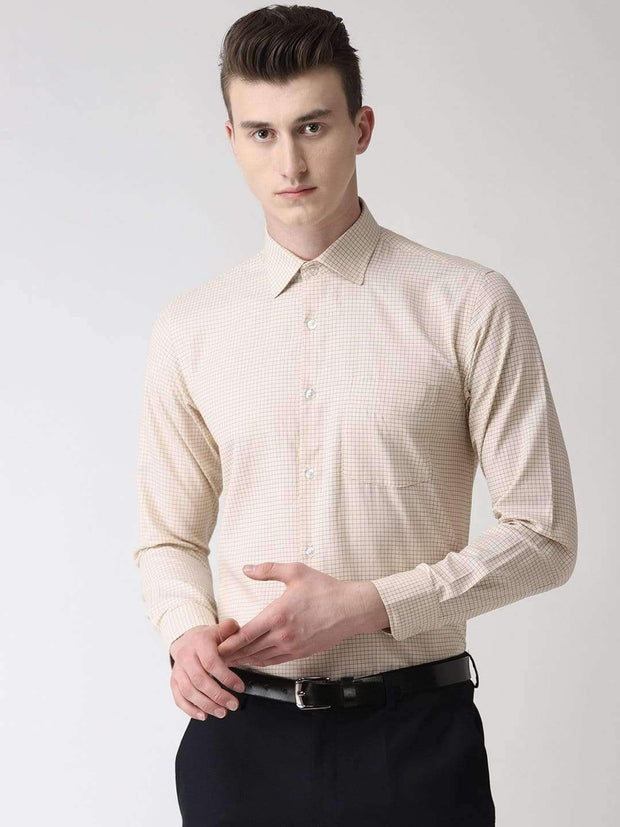 Pale Cream Formal Shirt