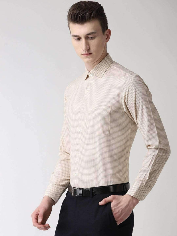 Pale Cream Formal Shirt side view