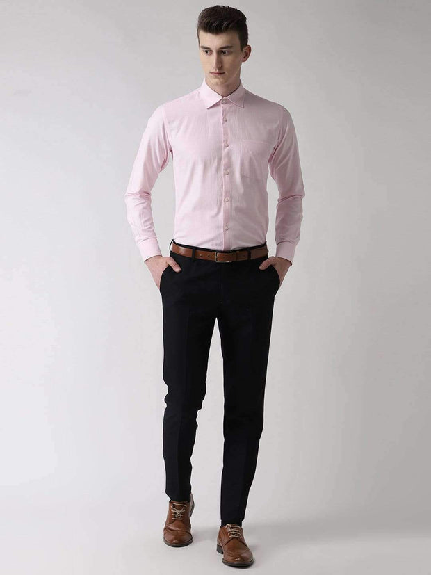 Pink Formal Shirt full view