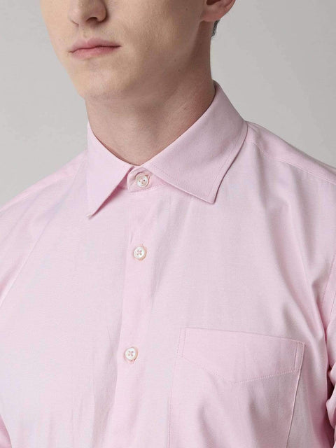 Pink Formal Shirt close view