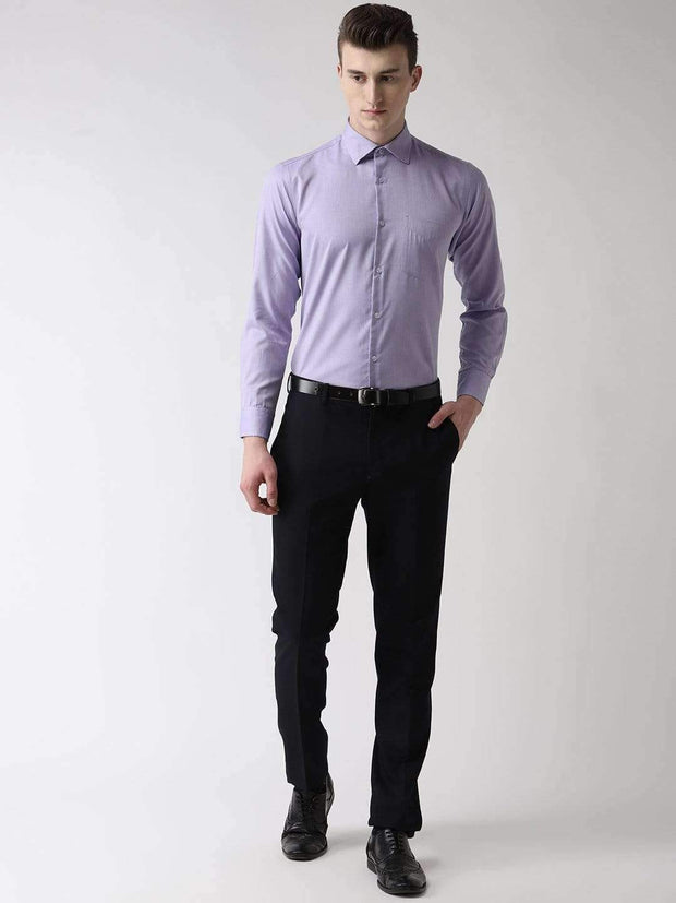 Purple Formal Shirt full view