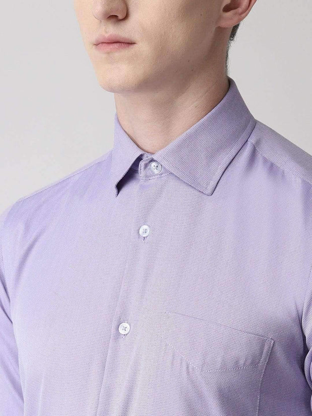 Purple Formal Shirt for Men