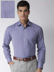 Blue Regular Fit Formal Shirt