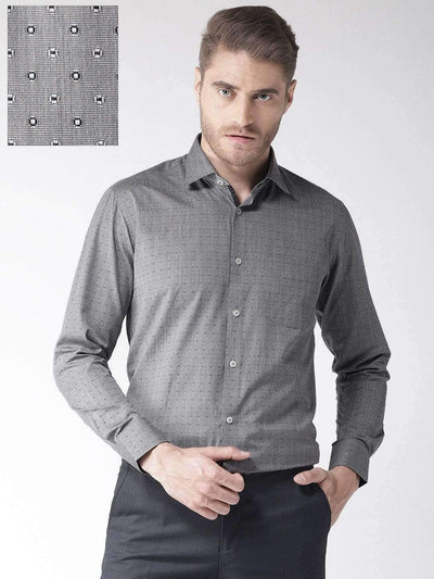 Smoke Regular Fit Formal Shirt