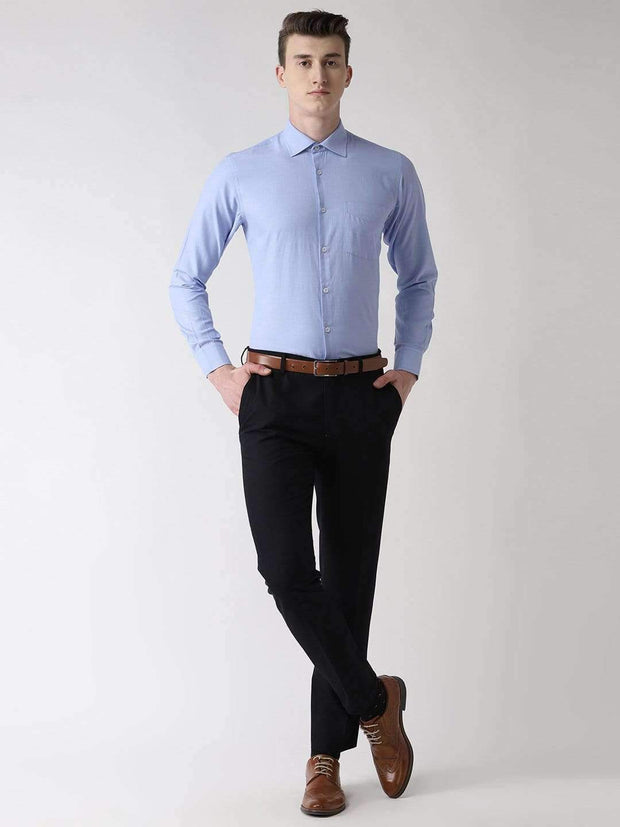 Sky Blue Formal Shirt full View