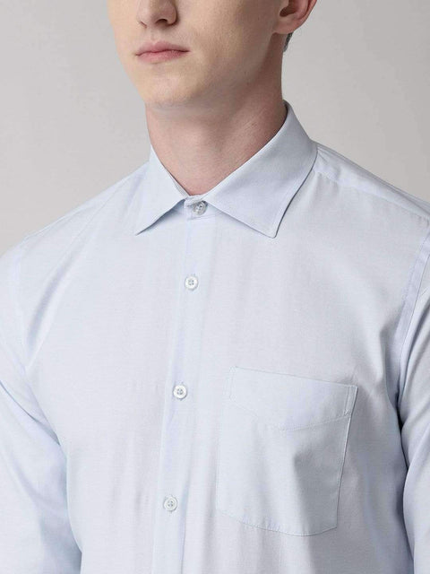Sky Blue Formal Shirt for men