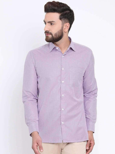 Red Formal Regular Fit Shirt