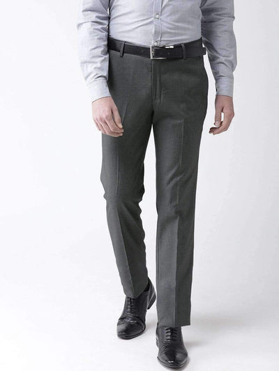 Richlook Formal Trouser Charcoal Formal Smart Fit Trouser
