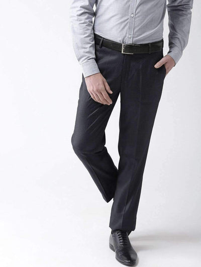 Richlook Formal Trouser Dark Grey Formal Smart Fit Trouser
