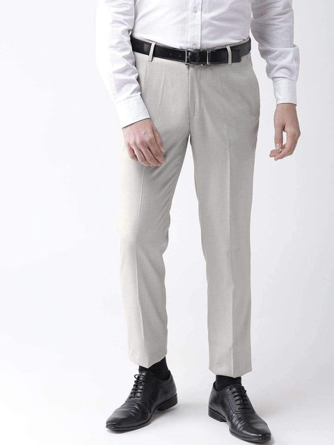 Richlook Formal Trouser Fawn Formal Smart Fit Trouser