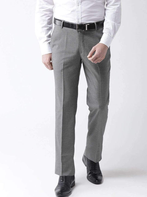Richlook Formal Trouser Grey Formal Smart Fit Trouser
