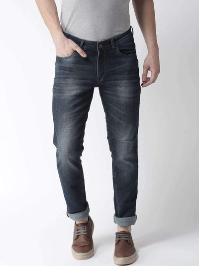 Richlook Jeans Blue Casual Slim Fit Jeans