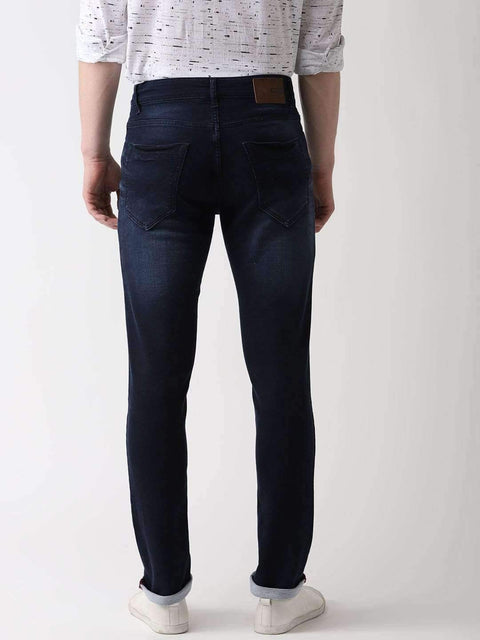 Jeans Blue Slim Fit Jeans back view