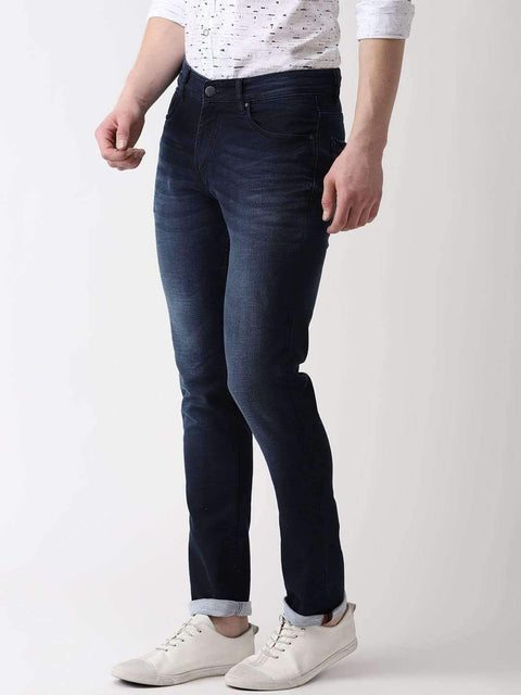 Jeans Blue Slim Fit Jeans side view