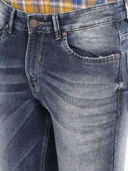 Blue Slim Fit Jeans close view