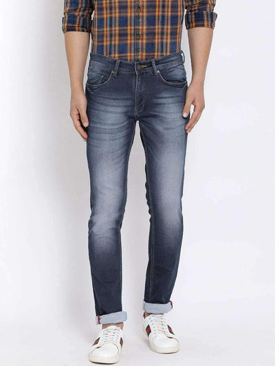 Richlook Blue Slim Fit Jeans