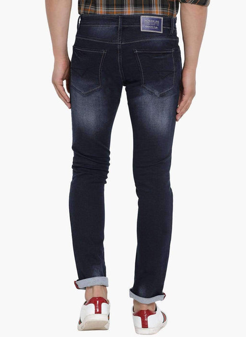 Blue Slim Fit Jeans side view