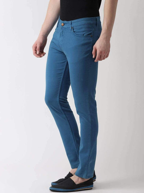 Richlook Jeans Royal Blue Slim Fit Jeans