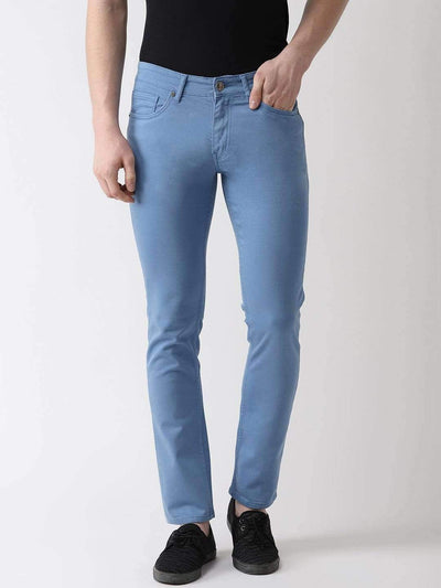 Sky Blue Slim Fit Jeans