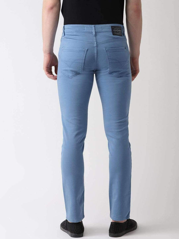 Sky Blue Jeans back view