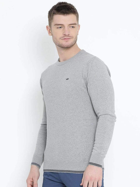 Grey Milane Sweater side view