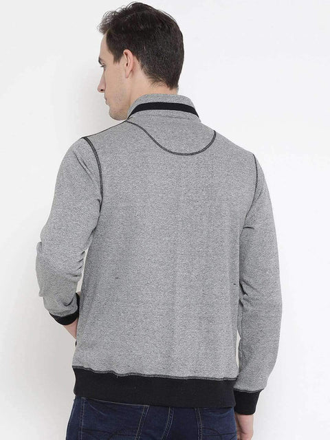 Grey Sweatshirt Back View