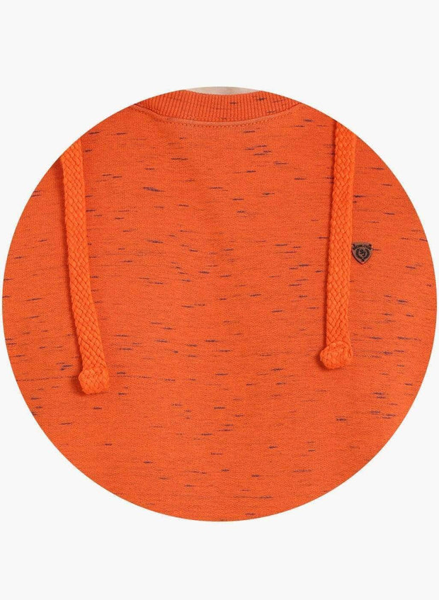 Richlook Sweatshirt Richlook Orange Hoodie SweatShirt