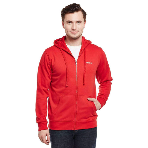 Richlook Sweatshirt Richlook Red Hoodie SweatShirt