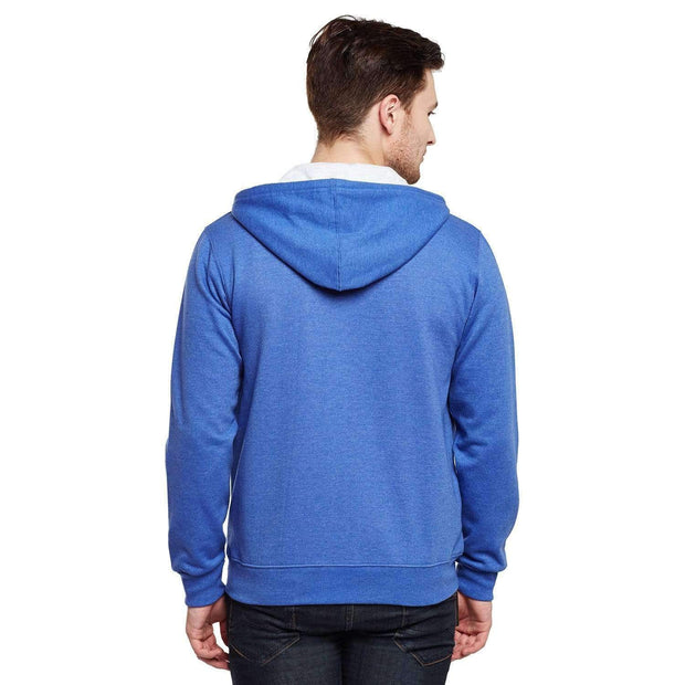 Royal Blue Hoodie Sweatshirt back view