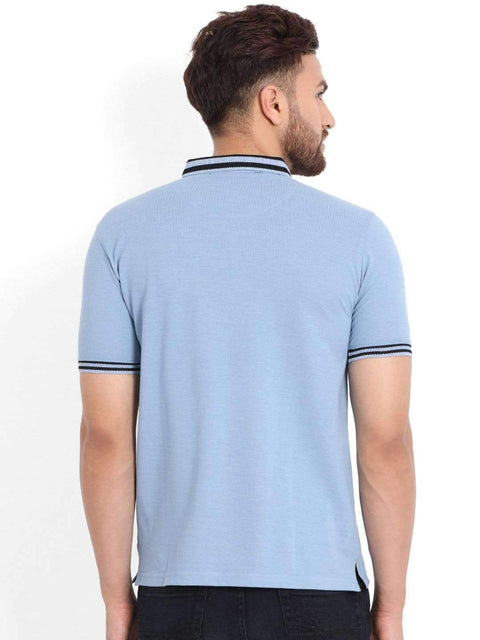 Richlook T-Shirt Light Blue Polo T-Shirt