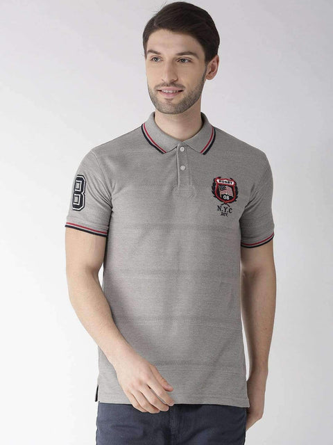 Richlook Anthra Polo Tshirt