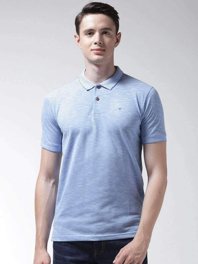 Richlook Azure & Blue Polo Tshirt