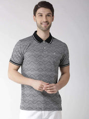 Black & Grey Polo Tshirt
