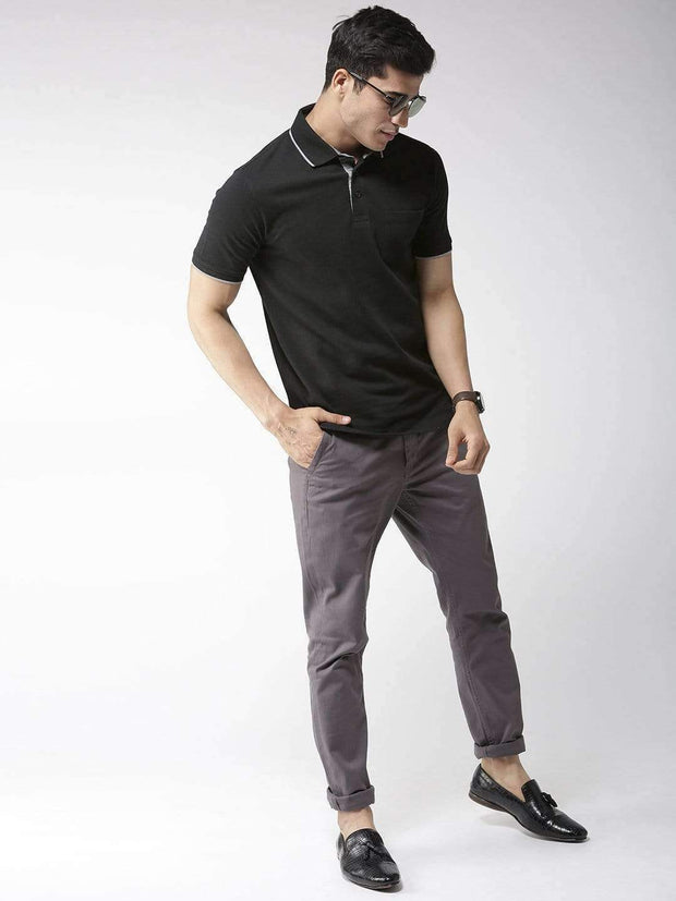 Black Polo Tshirt for Men