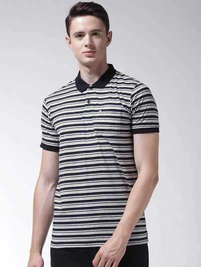 Black & White Polo Tshirt