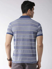 Blue Polo Tshirt back view