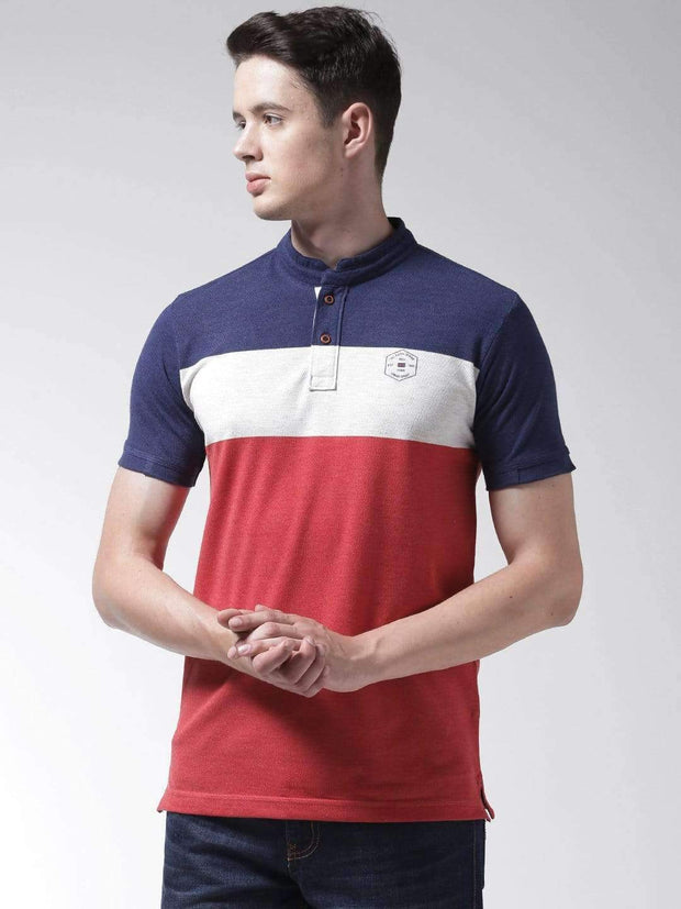 Richlook Blue & Red & White Hanley Tshirt
