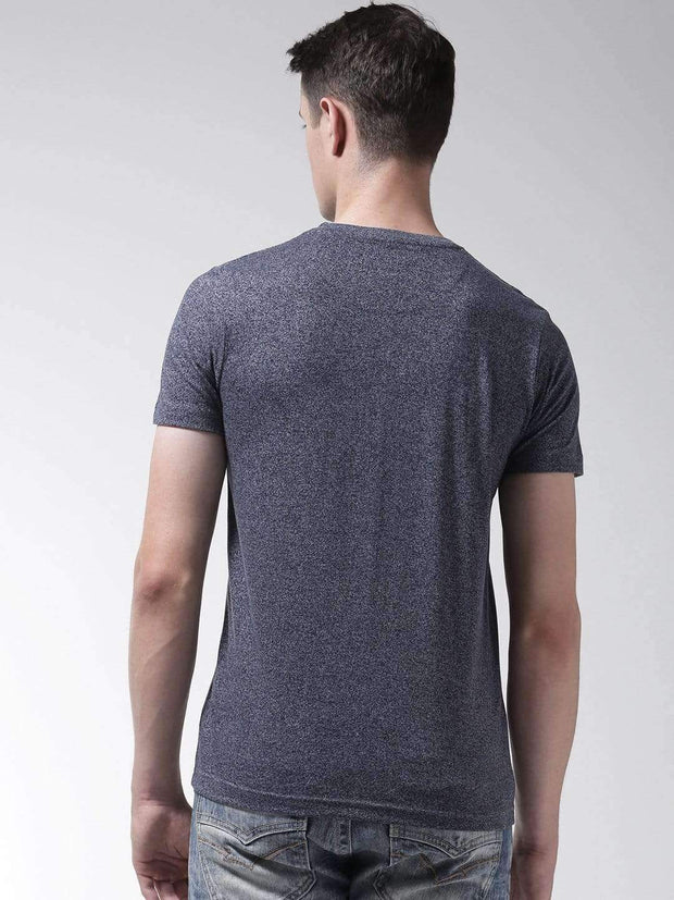 Denim & Jasper Round Neck Tshirt back view