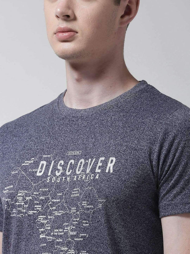Denim & Jasper Round Neck Tshirt for Men