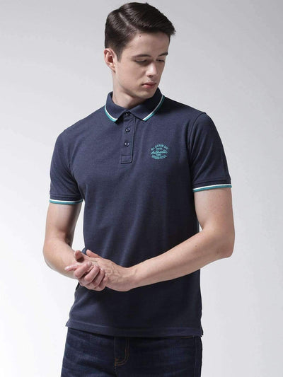 Denim Mix Polo T-shirt